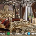 New Tempat Tidur Mewah Klasik Jepara Royal King Sultan MMJ-0926