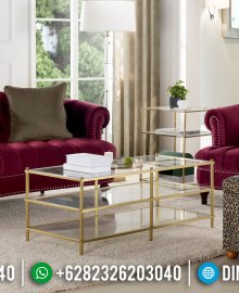 Great Sofa Tamu Jepara Minimalis Modern Design Interior Kekinian MMJ-0931