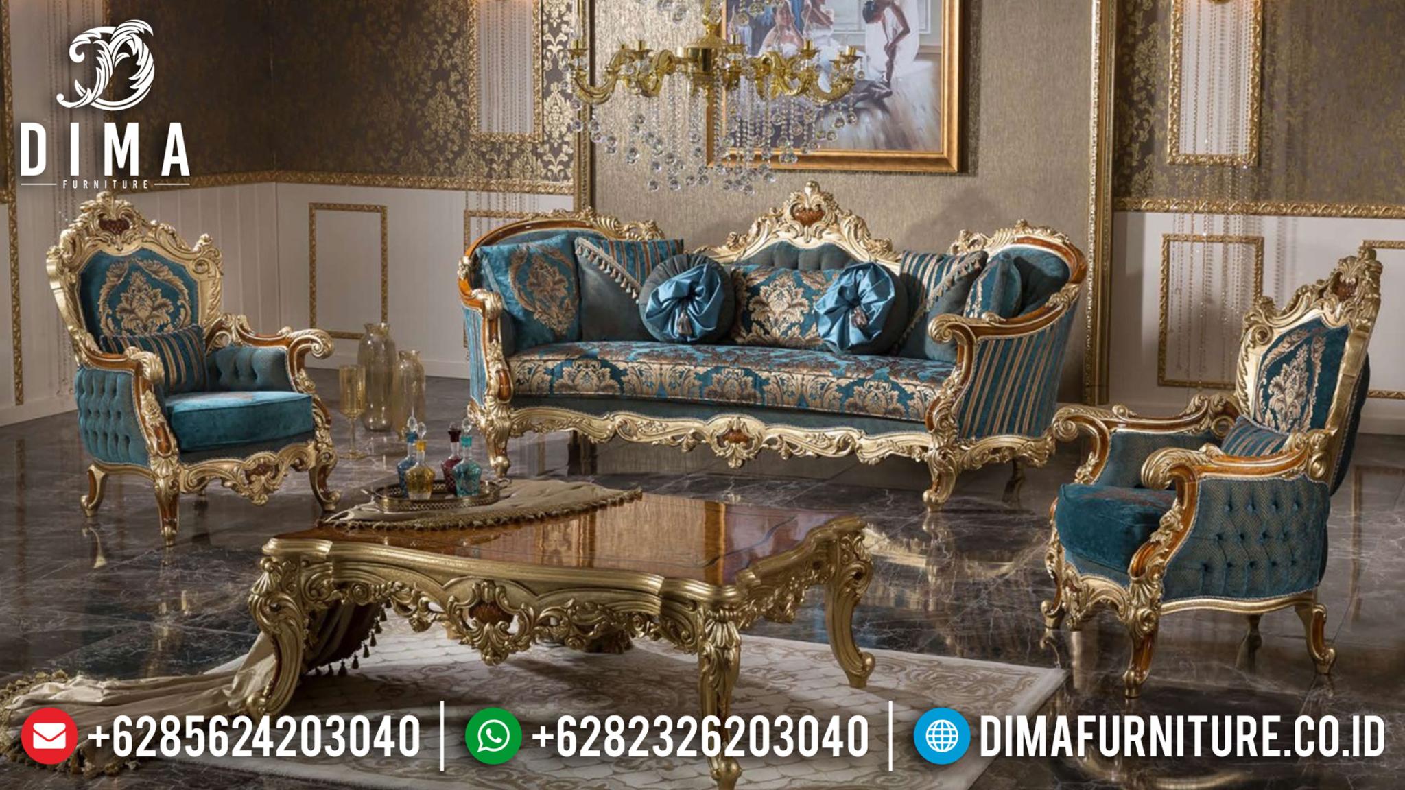 Harga Sofa Tamu Jepara Natural Combine Luxury Classic Style New Design 2020 MMJ-0941