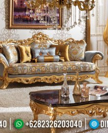 New Sofa Tamu Ukir Jepara Golden Shine Art Deco Luxury Beautiful Design MMJ-0938