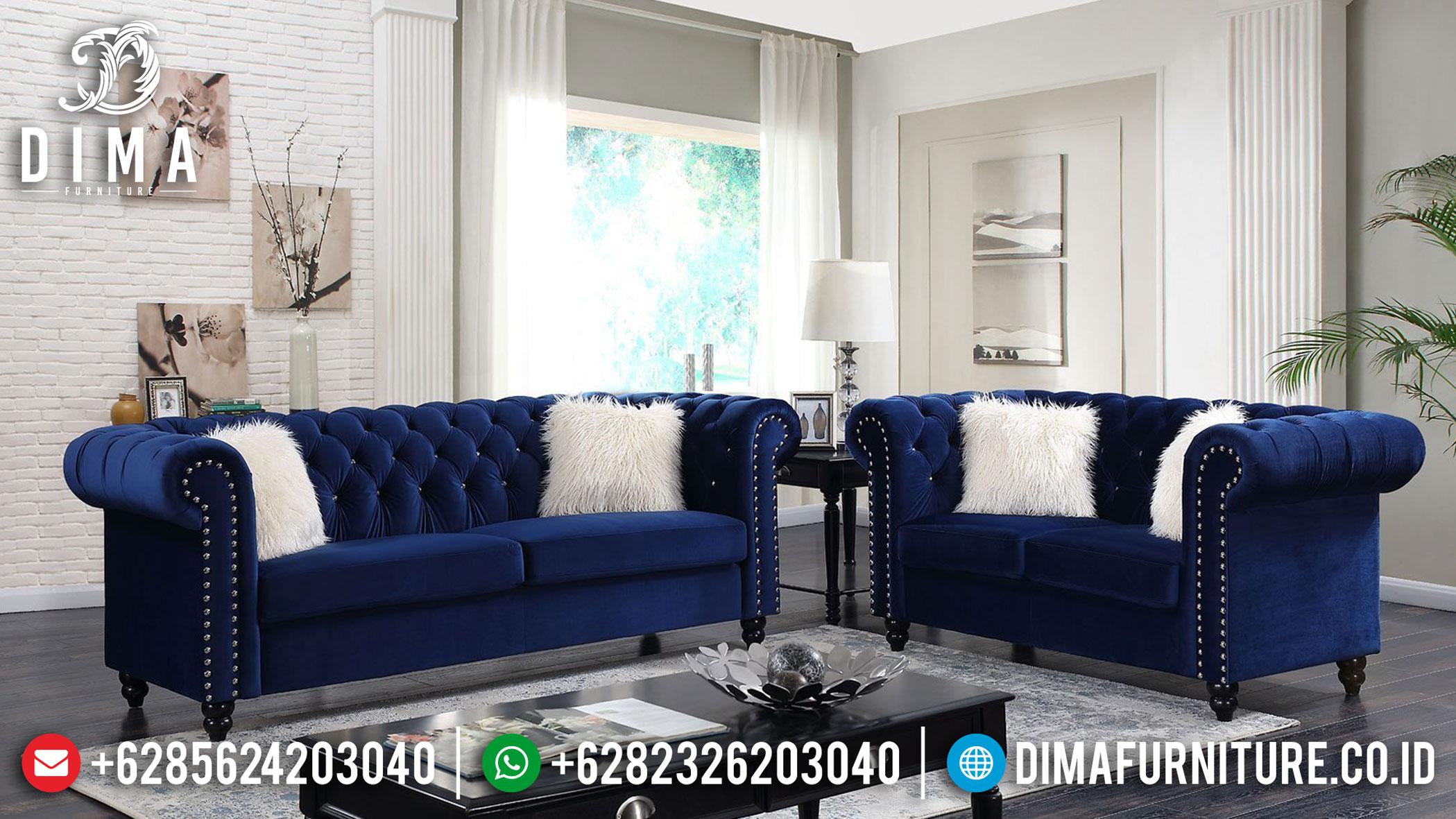 Sale Sofa Tamu Chesterfield Minimalis Free Ongkir Jawa Bali Best Price MMJ-0930