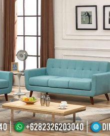 Set Sofa Tamu Minimalis Modern Beautiful Color Velvet New 2020 MMJ-0935