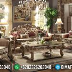 Jual Sofa Tamu Mewah Ukiran Classic Golden Royals MMJ-0945