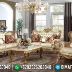 New Set Sofa Tamu Mewah Golden Ukiran Jepara 2021 MMJ-0947