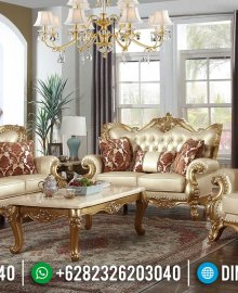 New Set Sofa Tamu Mewah Golden Ukiran Jepara 2021 MMJ-0947